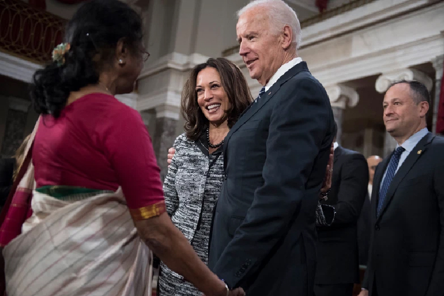 Joe Biden and Kamala Harris - Indian Connection
